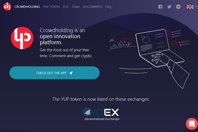 Crowdholding Screenshot